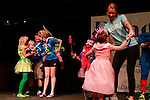 Children and DanceBlue committee members dance during the &quot;fashion show&quot; at DanceBlue on March 3, 2012 in Memorial Coliseum.