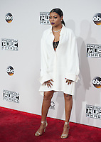 LOS ANGELES, CA. November 20, 2016: Actress Taraji P. Henson at the 2016 American Music Awards at the Microsoft Theatre, LA Live.<br /> Picture: Paul Smith/Featureflash/SilverHub 0208 004 5359/ 07711 972644 Editors@silverhubmedia.com