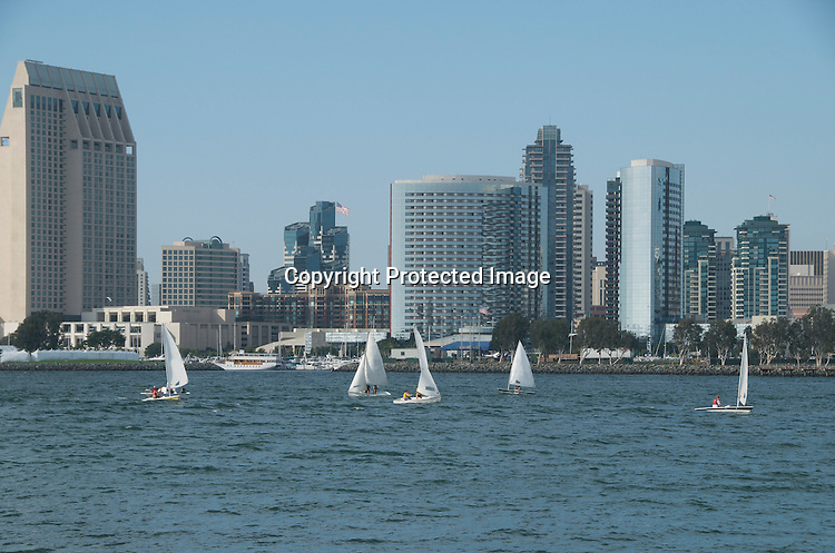 Stock Photos of San Diego Mission Bay