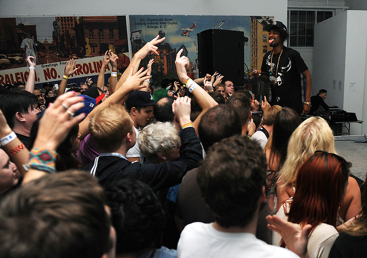 SEPTEMBER 8, 2012: Danny Brown at CAM. Day three, Hopscotch 2012. (photo by Kim Walker, kimwalkerphoto.com)