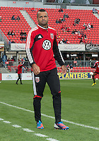 06 October 2012: D.C. United forward Maicon Santos #29 coming off the pitch after warm-up in an MLS game between D.C. United and Toronto FC at BMO Field in Toronto, Ontario..D.C. United won 1-0..