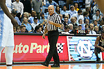 20 January 2016: Referee Tim Comer. The University of North Carolina Tar Heels hosted the Wake Forest University Demon Deacons at the Dean E. Smith Center in Chapel Hill, North Carolina in a 2015-16 NCAA Division I Men's Basketball game. UNC won the game 83-68.