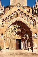 Reconstruction of Ják ( jak ) church at the Vajdahunyad Castle, Budapest, Hungary