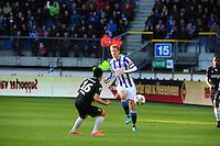 VOETBAL: HEERENVEEN: Abe Lenstra Stadion, SC Heerenveen - Vitesse, 21-01-2012, Eindstand 1-1, Michihiro Yasuda (#16), Viktor Elm (#7), ©foto Martin de Jong