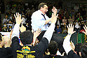 Donald Beck (Alvark), .APRIL 22, 2012 - Basketball : .JBL FINALS 2011-2012 GAME 4 .between Aisin Sea Horses 64-83 Toyota Alvark .at 2nd Yoyogi Gymnasium, Tokyo, Japan. .With this victory Toyota Alvark won their first championship in 5 years..