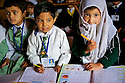 Three students of a Muslim class.