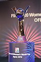 The Trophy of FIFA U-20 Women's World Cup, .JUNE 4, 2012 - Football /Soccer : .Official Draw for the FIFA U-20 Women's World Cup Japan 2012 .in Tokyo, Japan. .(Photo by YUTAKA/AFLO SPORT) [1040]