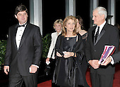 Washington, DC - December 5, 2009 -- From left to right: William Kennedy Smith, Jean Kennedy Smith, Caroline Kennedy Schlossberg, and Edwin Schlossberg arrive for the formal Artist's Dinner at the United States Department of State in Washington, D.C. on Saturday, December 5, 2009..Credit: Ron Sachs / CNP.(RESTRICTION: NO New York or New Jersey Newspapers or newspapers within a 75 mile radius of New York City)