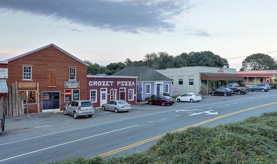 Downtown Crozet, Va. Photo/Andrew Shurtleff