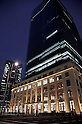 "June 1st, 2012, Tokyo, Japan - Tokyo Post Office ""JP Tower"" is completed on May 31st. It has a direct access from Tokyo Station. Post office will be opened on July 16th. The International conference center ""JP Tower Hall & Conference"", International Business/Tourist information center ""Tokyo City i"", and the museum ""Intermediatheque""  will be on business in next spring 2013. The main architect of this building is a German-American Jahn Helmut. (Photo by Rodrigo Reyes Marin/AFLO)"