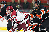 Jimmy Vesey (Harvard - 19), Jeremy Goodwin (Princeton - 6) - The Harvard University Crimson defeated the Princeton University Tigers 3-2 on Friday, January 31, 2014, at the Bright-Landry Hockey Center in Cambridge, Massachusetts.