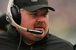 16 Jan 2005: Andy Reid of the Philadelphia Eagles during the Philadelphia Eagles 27-14 victory over the Minnesota Vikings at Lincoln Financial Field in Philadelphia, PA. <br /> <br /> Mandatory Credit:Todd Bauders/ContrastPhotography.com