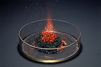 AMMONIUM DICHROMATE OXIDATION - VOLCANO EFFECT<br />