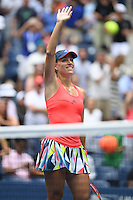 FLUSHING NY- SEPTEMBER 06: Angelique Kerber Vs Roberta Vinci on Arthur Ashe Stadium at the USTA Billie Jean King National Tennis Center on September 6, 2016 in Flushing Queens. Credit: mpi04/MediaPunch