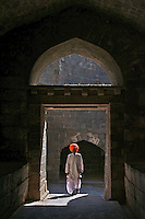 Indian Man at Daulatabad Fort Aurangabad