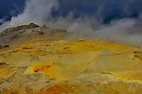Solfatare, Vulcano Island, Stromboli, Etna, Italy