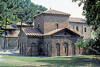 "Italy: Ravenna--The Mausoleum of Gall Placidia, 5th C. ""Probably the tomb of an Emperor's daughter married to a visigothic prince""...Willis, 232. Photo '83."