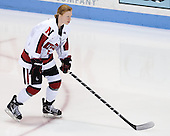 Kelly Wallace (NU - 5) - The Northeastern University Huskies defeated Boston College Eagles 4-3 to repeat as Beanpot champions on Tuesday, February 12, 2013, at Matthews Arena in Boston, Massachusetts.