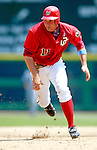18 June 2006: Ryan Zimmerman, third baseman for the Washington Nationals, in action against the New York Yankees at RFK Stadium, in Washington, DC. The Nationals defeated the Yankees 3-2 in the third game of the interleague series...Mandatory Photo Credit: Ed Wolfstein Photo...