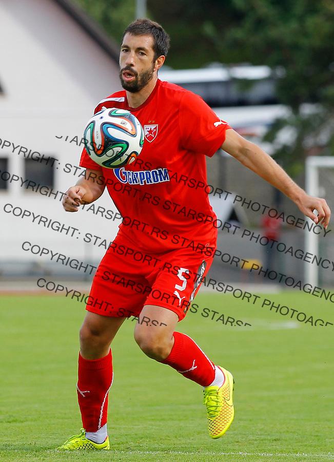 Fudbal season 2013-2014<br /> FK Crvena Zvezda pripreme<br /> Crvena Zvezda v Krka<br /> Nikola Mijailovic <br /> Novo Mesto, 07.12.2014.<br /> foto: Srdjan Stevanovic/Starsportphoto &copy;