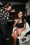 Eliane Luduvino Backstage at Swim Sunrise Fashion Show Held at New York Aqua Bar & Lounge inside Grace Hotel, NY 7/27/12