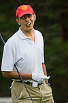 Barack Obama golfs during his stay in Hawaii at Mid-Pacific Country Club in Lanikai, Kailua, Hawaii