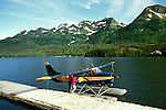Alaska: Exploring Prince William Sound.  Photo akprin101. Fly in by small plane..Photo copyright Lee Foster, 510/549-2202,  lee@fostertravel.com, www.fostertravel.com