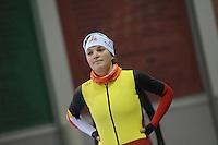 SCHAATSEN: SALT LAKE CITY: Utah Olympic Oval, 12-11-2013, Essent ISU World Cup, training, Jelena Peeters (BEL), ©foto Martin de Jong