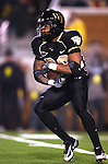 18 November 2006: Wake Forest's Travo Woods rushes the ball. The Virginia Tech Hokies defeated the Wake Forest University Demon Deacons 27-6 at Groves Stadium in Winston-Salem, North Carolina in an Atlantic Coast Conference NCAA Division I College Football game.