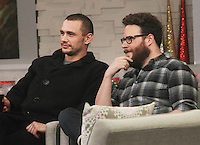 DEC 15 James Franco, Seth Rogen at Good Morning America