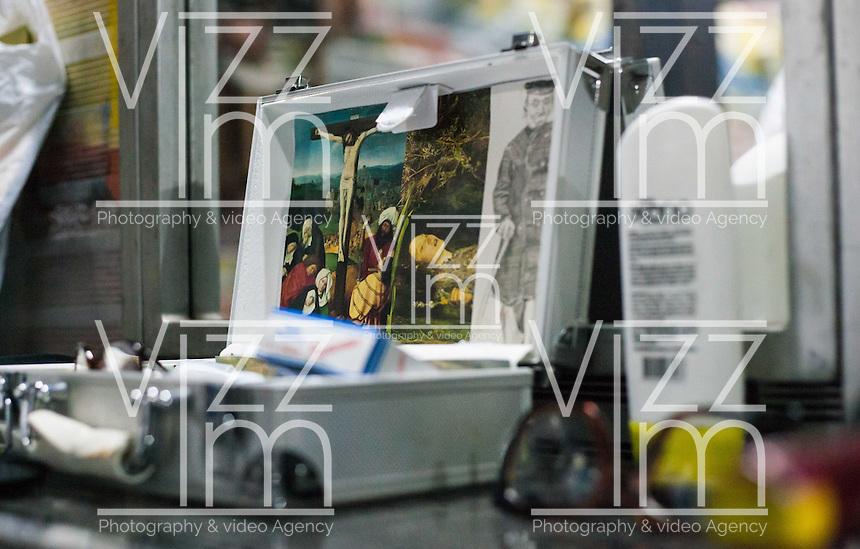 MEDELLIN -COLOMBIA. 25-08-2013. Maestros Antiguos_Caja Negra durante la Fiesta de las Artes Escenicas en la ciudad de Medellin. Photo: VizzorImage / Str