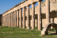 Cyrene, Shahat, Libya - Greek Gymnasium 2nd. Century B.C., converted to a Forum by Romans in 2nd. Century A.D.