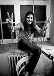 Black Sabbath 1971 Ozzy Osbourne.© Chris Walter.