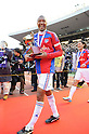 Lucas (FC Tokyo), JANUARY 1, 2012 - Football / Soccer : Lucas of FC Tokyo celebrates with the trophy during the award ceremony after winning the 91st Emperor's Cup final match between Kyoto Sanga F.C. 2-4 F.C.Tokyo at National Stadium in Tokyo, Japan. (Photo by Takahisa Hirano/AFLO)