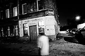 Wroclaw 19.08.2009 Poland<br /> The worst and the most dangerous district in Wroclaw ( Poland ), called by people &quot;The Bermuda Triangle&quot;.<br /> Photo by Adam Lach / Napo Images<br /> <br /> Najbardziej nabezpieczna dzielnica we Wroclawiu zwana przez ludzi Trojkatem Bermudzkim.<br /> Fot Adam Lach / Napo Images