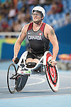 RIO DE JANEIRO - 12/9/2016:  Josh Cassidy competes in the Men's 1500m - T54 Heat at the Olympic Stadium during the Rio 2016 Paralympic Games in Rio de Janeiro, Brazil. (Photo by Matthew Murnaghan/Canadian Paralympic Committee)