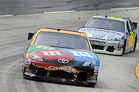 30 March - 1 April, 2012, Martinsville, Virginia USA.Kyle Busch, M&M's Toyota Camry, Jimmie Johnson.(c)2012, Scott LePage.LAT Photo USA