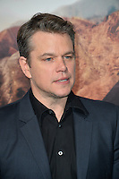 Matt Damon at the premiere for &quot;The Great Wall&quot; at the TCL Chinese Theatre, Hollywood, Los Angeles, USA 15 February  2017<br /> Picture: Paul Smith/Featureflash/SilverHub 0208 004 5359 sales@silverhubmedia.com