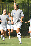 24 August 2008: Duke's Ashley Rape. The Duke University Blue Devils defeated the Coastal Carolina University Lady Chanticleers 9-0 at Koskinen Stadium in Durham, North Carolina in an NCAA Division I Women's college soccer game.