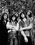 Deep Purple 1969 Ritchie Blackmore, Ian Paice, Jon Lord, Roger Glover and Ian Gillan.© Chris Walter.