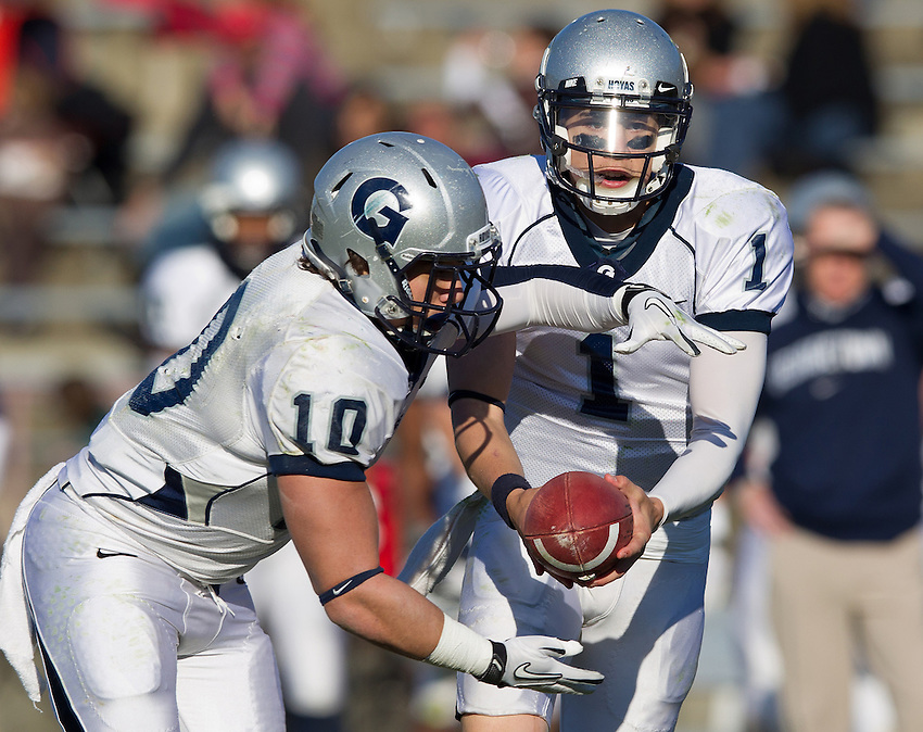 Georgetown Football 2011 vs Lehigh
