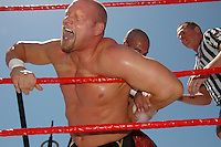 BOUT 1- Val Venis and Daivari wrestle during the WWE SummerSlam weekend in Venice on Saturday, Aug 18, 2007. Val Venis pinned Daivari and won the bout...