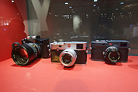 Photokina in Cologne ist the World's biggest bi-annual photo fair..Leica occupies half of Hall 1.Leica M, M-E.