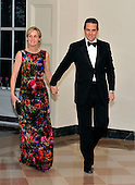 Hunter Biden and Kathleen Biden arrive for the Official Dinner in honor of Prime Minister David Cameron of Great Britain and his wife, Samantha, at the White House in Washington, D.C. on Tuesday, March 14, 2012..Credit: Ron Sachs / CNP.(RESTRICTION: NO New York or New Jersey Newspapers or newspapers within a 75 mile radius of New York City)