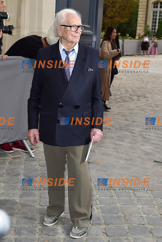 Pierre Cardin <br /> Dior fashion show arrivals - Paris - 30/09/2016
