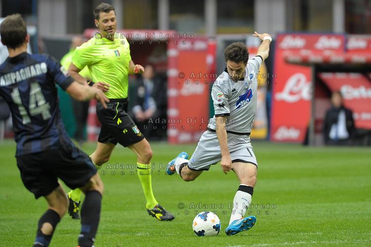 Giacomo Bonaventura (Atalanata) during the Serie Amatch between Inter vs Atalanta, on March 23, 2014. Photo: Adamo Di Loreto/NurPhoto