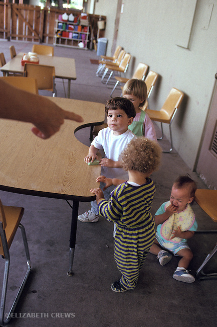 Palo Alto, CA Boy, 2, feeling guilty as he's being accused of making other child cry at day care