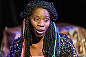 "Edinburgh, UK. 05.08.2016. Clean Break theatre company presents ""Amongst the Reeds"", by Chino Odimba, directed by Roisin McBrinn, at Assembly Box, as part of the Edinburgh Festival Fringe. Picture shows: Rebecca Omogbehin (Oni). Photograph © Jane Hobson."