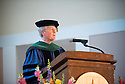 Dean Rick Morin, M.D. Commencement, class of 2013.