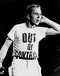 The Clash 1983 Joe Strummer  .